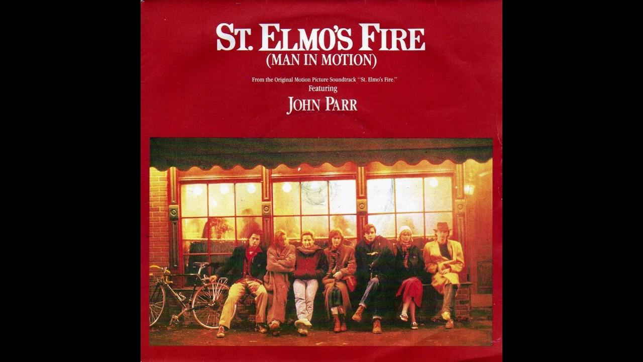 St classic rock John Parr inspired sticker Elmo/'s Fire Man in Motion,80s film