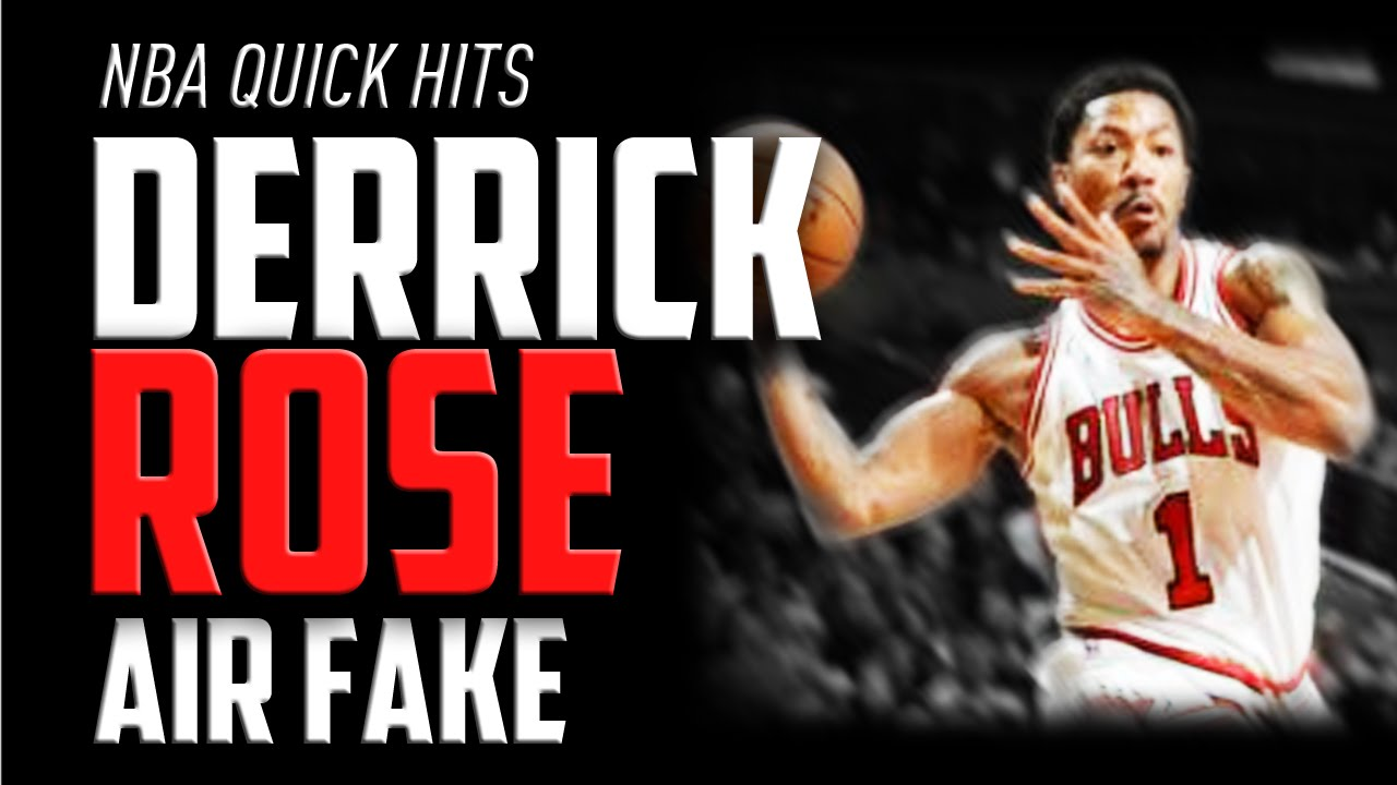 ad053c839e3 Derrick Rose Air Fake (NASTY)  Basketball Moves - YouTube