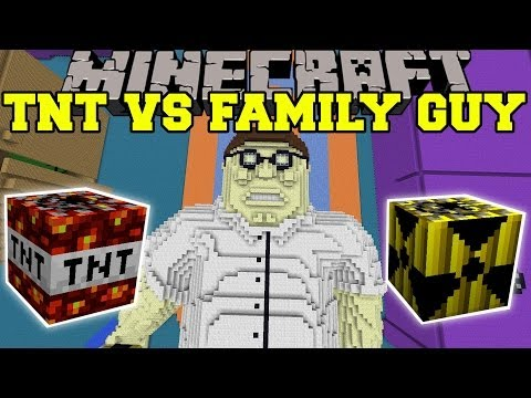 Thumbnail: TOO MUCH TNT MOD VS FAMILY GUY - Minecraft Mods Vs Maps (SO MANY EXPLOSIONS!)