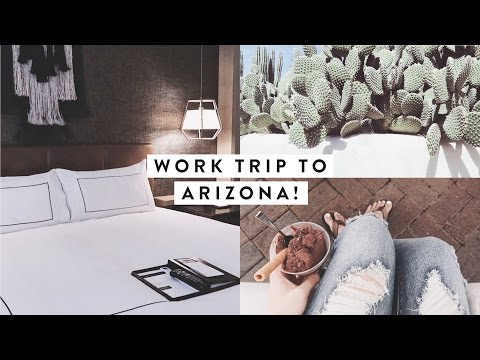 I Went to Arizona for Work + Hotel Room Tour!! | A WEEK IN MY LIFE