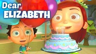 Happy Birthday Song to Elizabeth