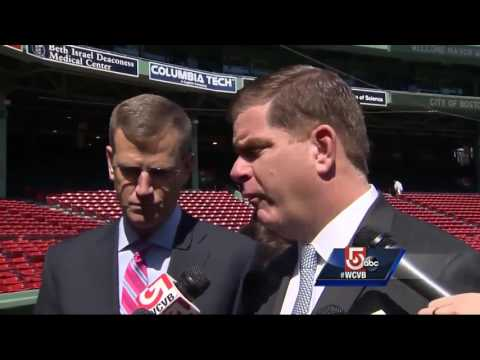 Fenway Park gets ready for 2017 Opening Day