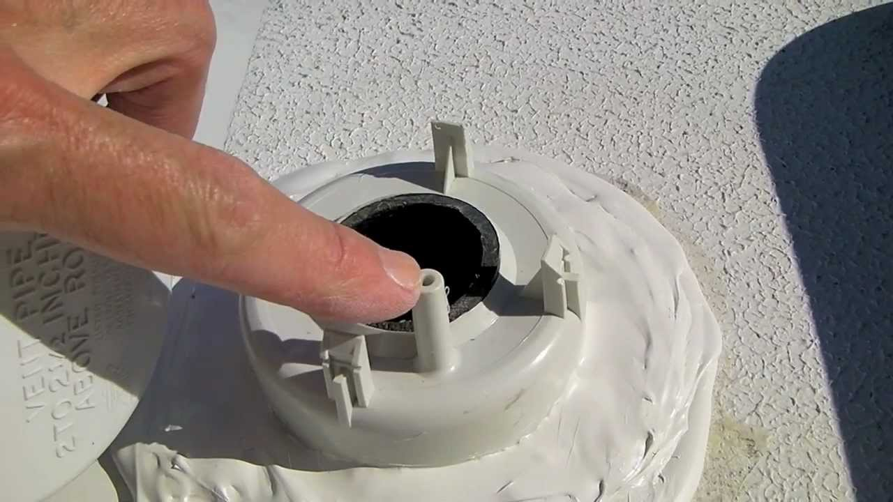 How To Replace An Rv Plumbing Vent Youtube