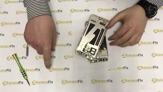 Ремонт Honor 7X: замена стекла дисплея - разборка - BananaFix
