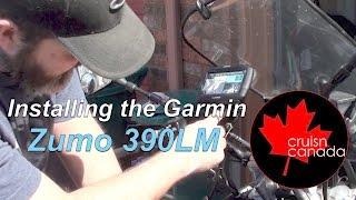 Garmin Zumo 390LM Motorcycle I…