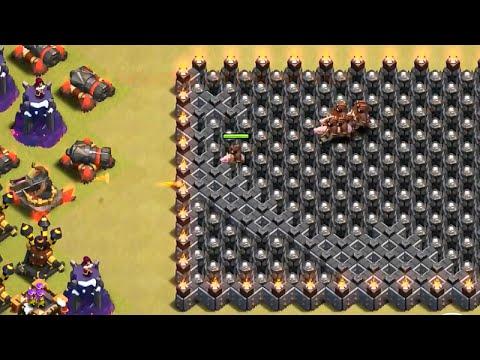 13 Wall Hog Jump - Clash of Clans
