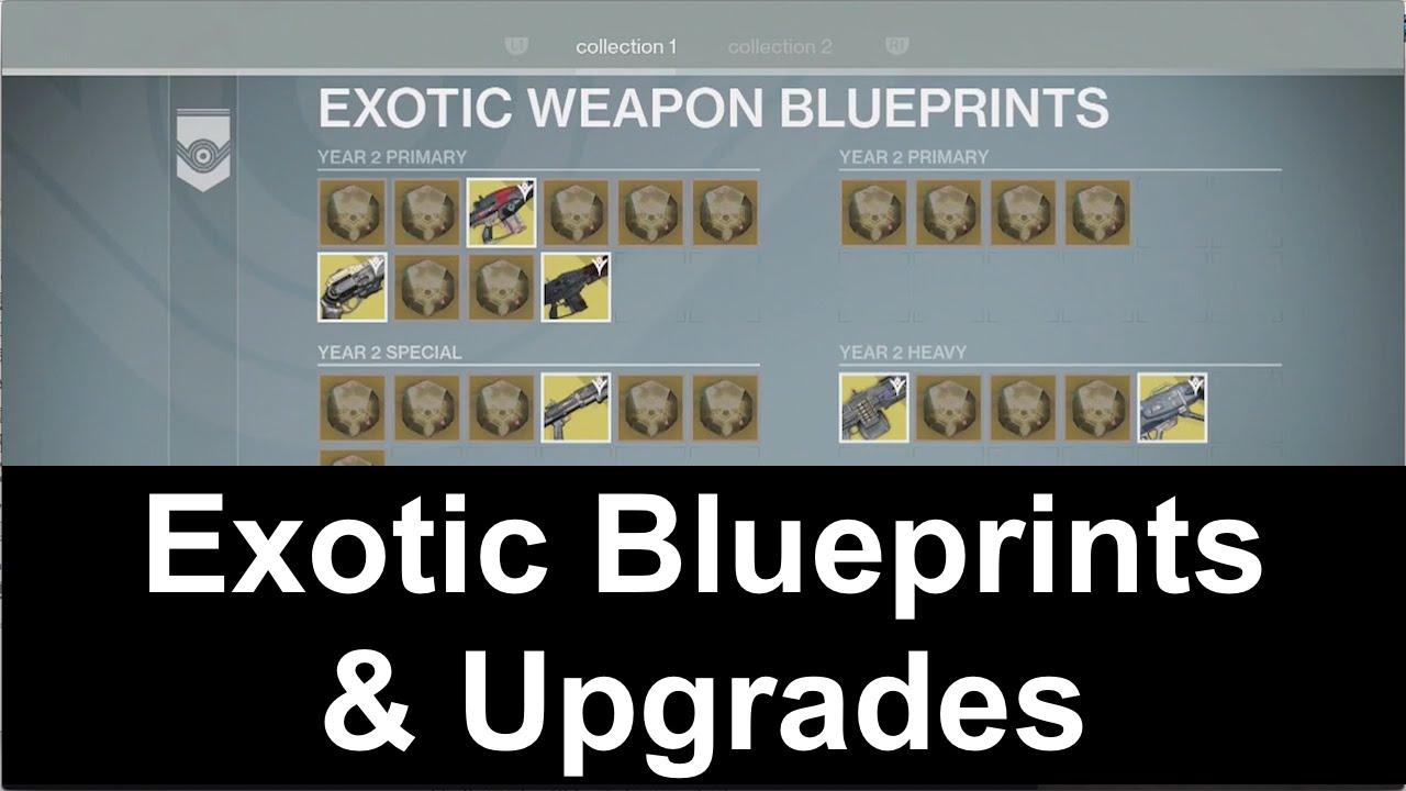 Destiny how exotic blueprints work exotic upgrades youtube destiny how exotic blueprints work exotic upgrades malvernweather Images