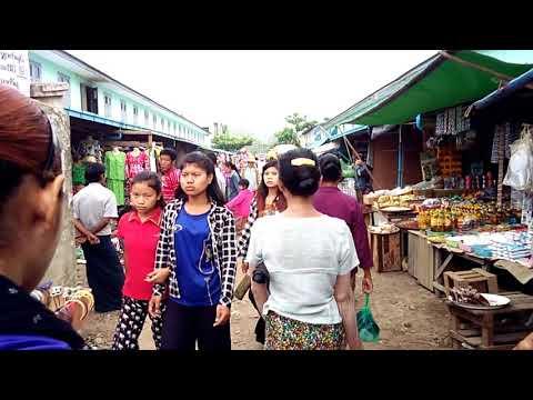 Tamu market myanmar, Burma