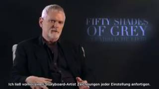 German Fifty Shades Darker Press Junket - James Foley