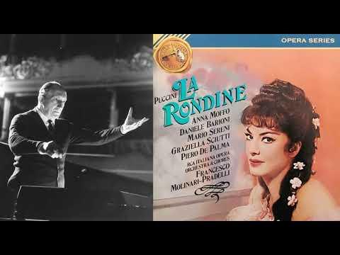 Puccini: La Rondine - Moffo, Sciutti, Barioni, de Palma, Sereni, cond. Molinari-Pradelli (1966)