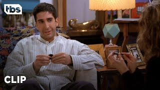 Friends: Ross Asks Rachel Out for the First Time (Season 1 Clip) | TBS