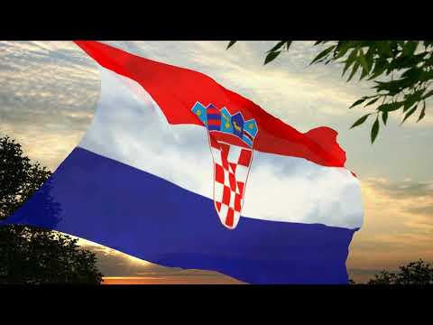 Flag and anthem of Croatia