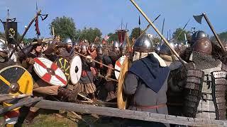 Wolin Festival (Slavs & Vikings) 2018 - Bitwa, Battle