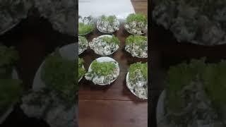 Не праздничная подача блюд