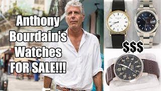 ⌚ Anthony Bourdain's Watches F…