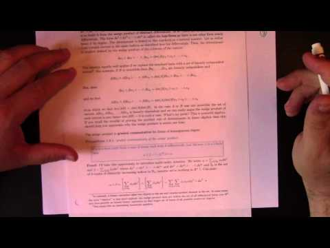 Differential Geometry: Lecture 3 Part 1: differential forms