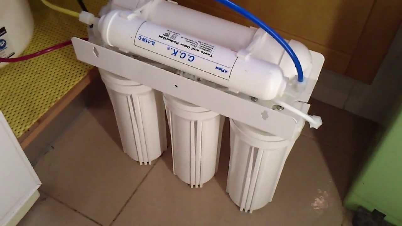 Cambia facilmente tus filtros de osmosis inversa youtube - Filtro de osmosis inversa ...