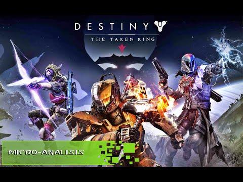 MicroAnalisis -  Destiny The taken king