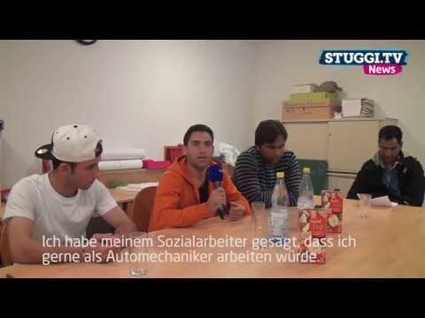 So geht's den Flüchtlingen in Stuttgart