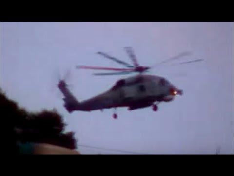 Hellenic Navy S-70 Sikorsky Aegean hawk in Action