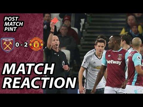 West Ham 0 Man United 2 | Post Match Pint