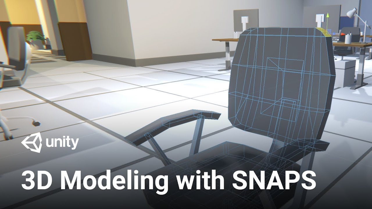 3D Modeling with Snaps in Unity!