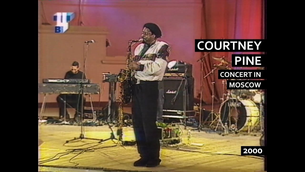 COURTNEY PINE - concert in Moscow, 2000