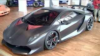 Lamborghini Sesto Elemento in detail