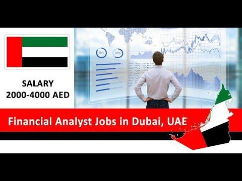 Financial Analyst Jobs in Dubai, UAE| How to Apply | Banking Finance Jobs in Dubai UAE