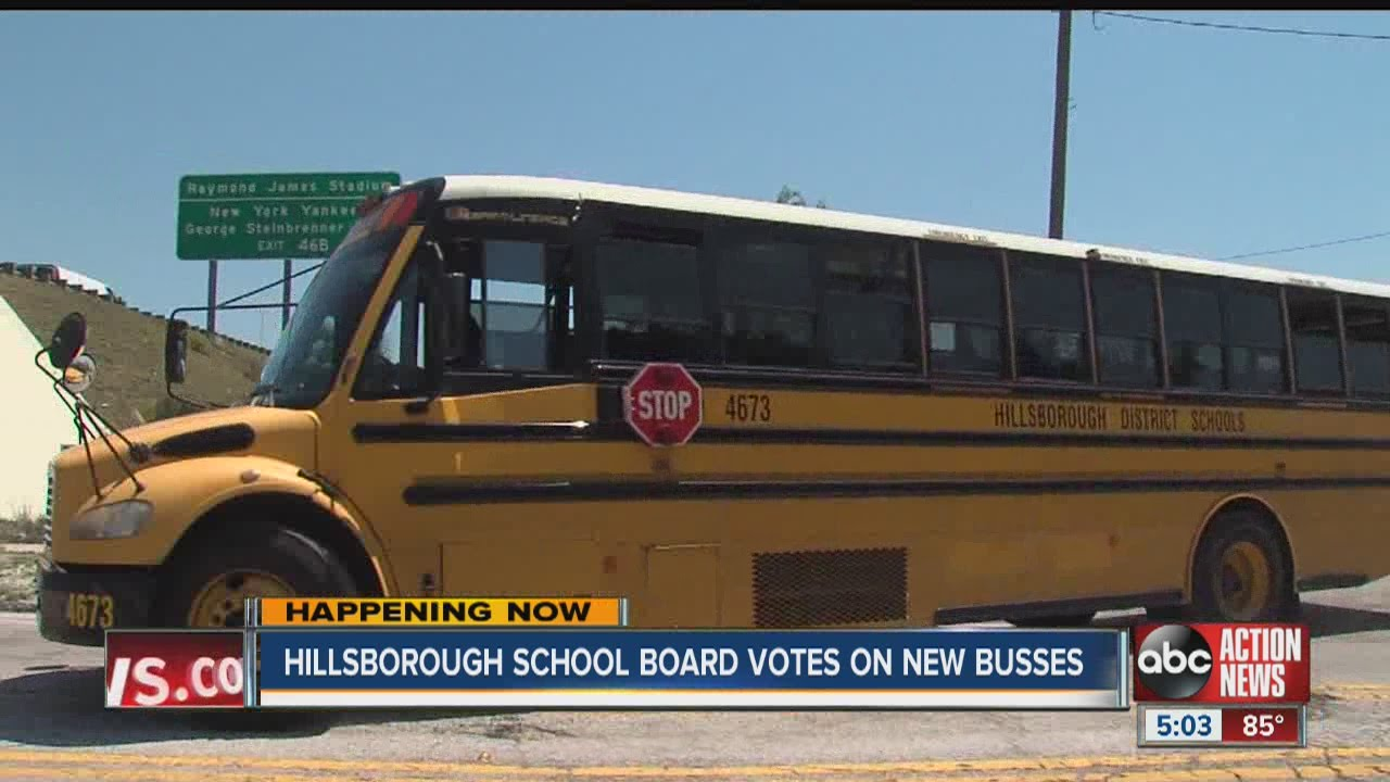 Hillsborough County Schools to vote on purchasing 200 new ...