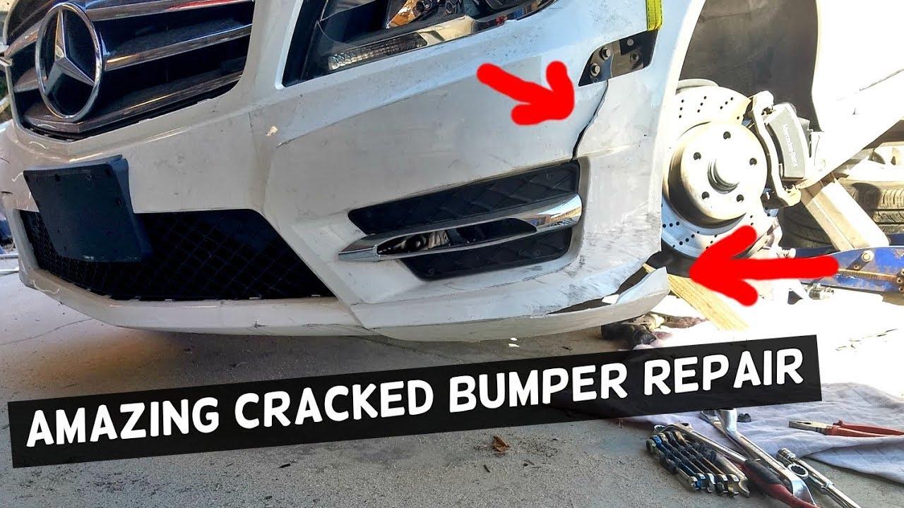 How To Fix Cracked Bumper Amazing Repair