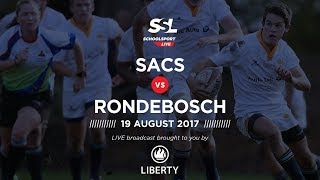 SACS 1st XV vs Rondebosch 1st XV, 19th August 2017