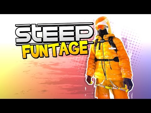 STEEP FUNTAGE! - Snow Angel Professionals! (Steep Funny Moments)