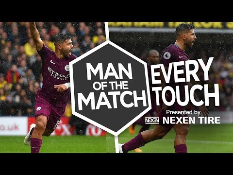 THE AGUERO SHOW! | EVERY TOUCH v Watford | Watford 0-6 City