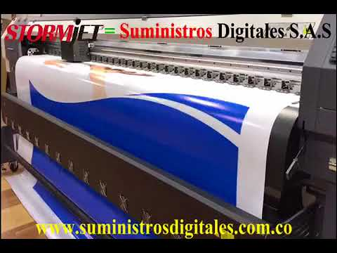 StormJet Printer SJ320TS en Colombia , Eco solvent Printer