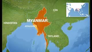 Myanmar esir kampları ve 5 bin şehit.1917.