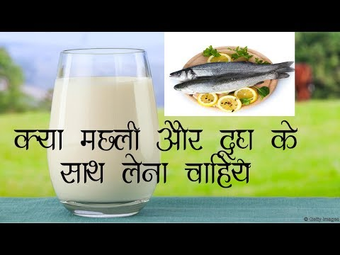 Is It Safe To Drink MILK After Eating FISH In Hindi