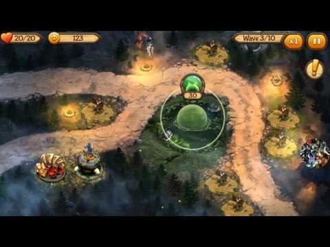 Evil Defenders Stage 1 and 2 Gameplay |