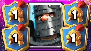 #1 DECK in CLASH ROYALE is DARK PRINCE SPAM!?