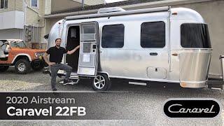 2020 Airstream Caravel 22FB Walk Through Small Light Weight Travel Trailer Bambi Size