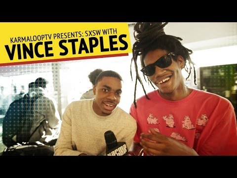 Vince Staples - How to manage your side chick @SXSW | YA BOY GITOO