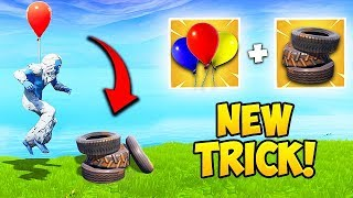 *EPIC TRICK* GET HIGH GROUND FAST! - Fortnite Funny Fails and WTF Moments! #412