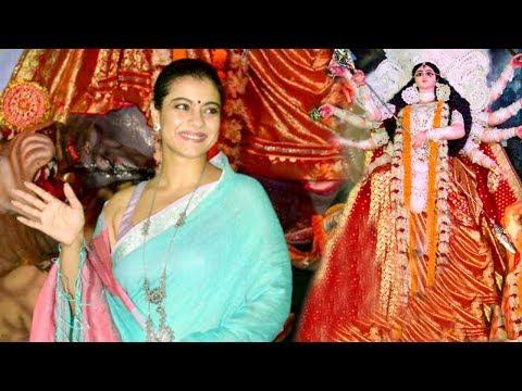 Kajol Durga Puja 2017 Celebrations Complete Video HD