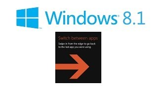 Switch between apps slideout won't go away - Windows 8.1 solution