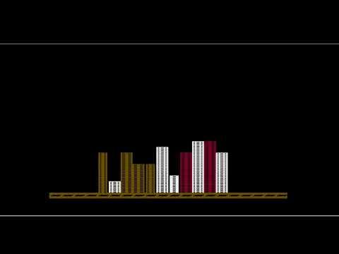 Cross Bomber by Fabrizio Caruso - ATARI 8-bit version