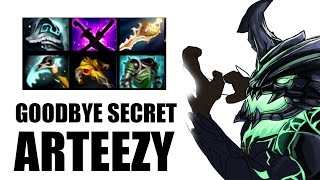 carry od by arteezy all for the throne intense dota 2 game
