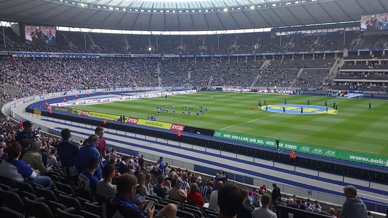 Hertha Stadionplan