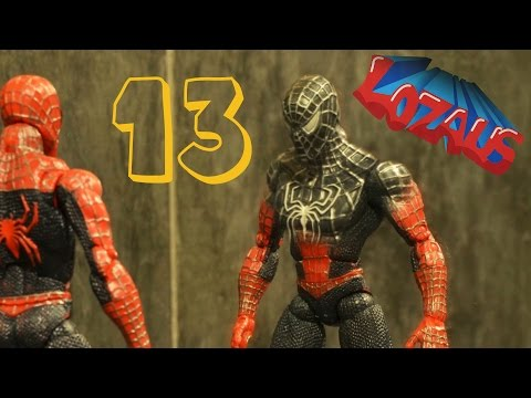 Thumbnail: SPIDERMAN STOP MOTION Action Video Part 13 with BATMAN