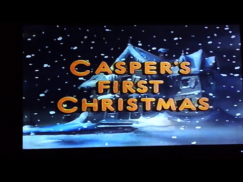 Casper's First Christmas 1995 VHS Opening