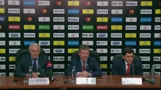 ЦСКА – «Ак Барс». Послематчевая пресс-конференция